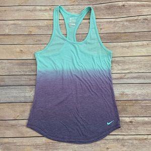 Nike Turquoise & Purple Tank
